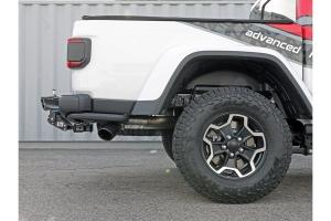 aFe Power Vulcan Series 3in DPF-Back Exhaust System w/ Black Tip  - JT Diesel