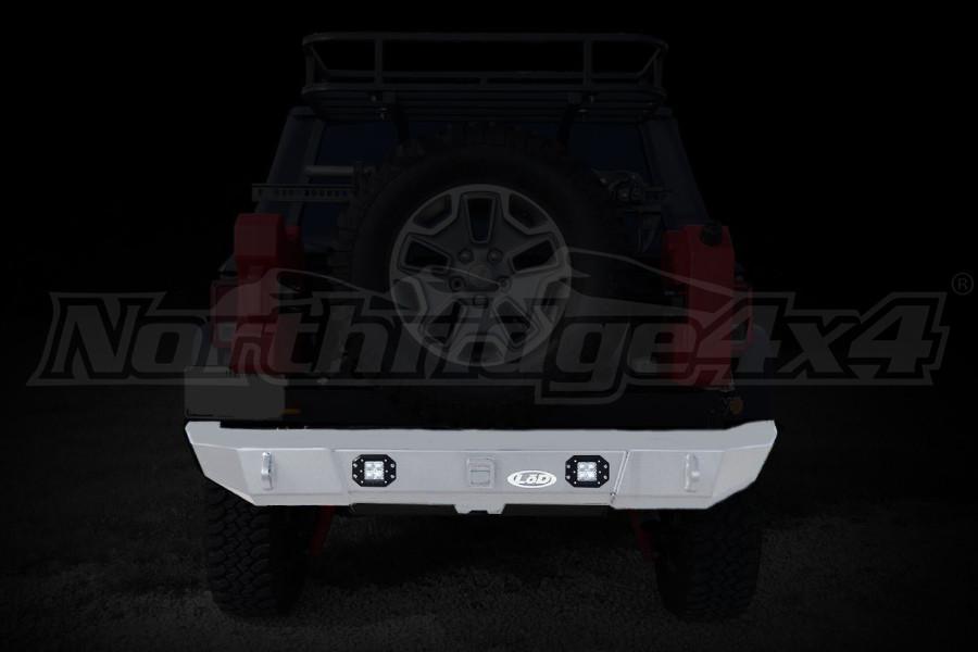 LOD Signature Series Rear Bumper w/Rigid Flush Light Provision  (Part Number:JRB0762)