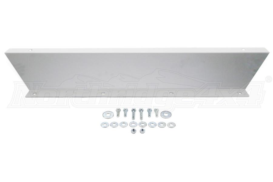 LOD Signature Series Shorty Front Bumper Skid Plate Bare Steel (Part Number:JSP0730)