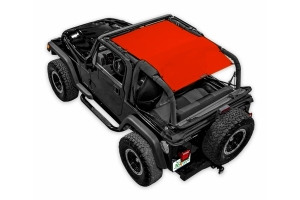 Spiderwebshade One Piece Top Cover Red - TJ