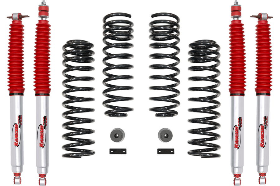 Rancho 2in Sport Suspension System w/9000XL Shocks (Part Number:RS66118BR9)