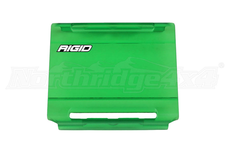 Rigid Industries E-Series 4IN Light Cover, Green (Part Number:104973)