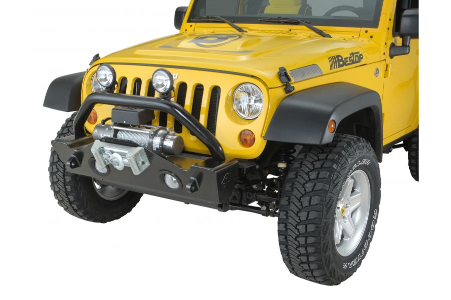 Bestop HighRock 4x4 Narrow Front Bumper Matte (Part Number:44933-01)