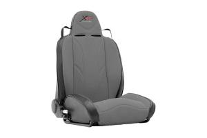 Smittybilt  XRC Suspension Seat, Passenger Side, Grey/Black - JK/TJ/LJ/YJ/CJ