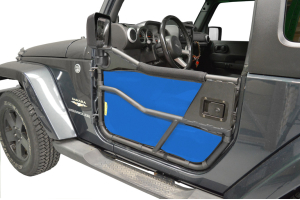Dirty Dog 4x4 Bestop Tube Door Screen Blue - JK 2dr