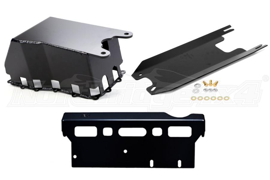 EVO Manufacturing ProTek Manual Trans Skid System for Long Arms JK 2007-11 (Part Number:210LA)