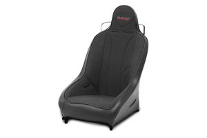 MasterCraft Pro4 Suspension Seat Smoke Black / Black (Part Number: )
