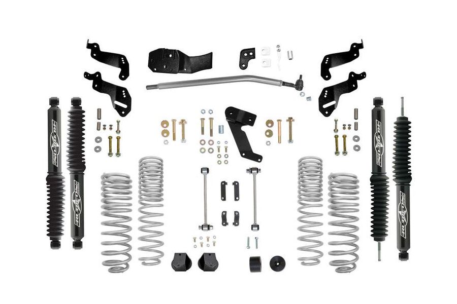 Rubicon Express Progressive Coil Sport Lift Kit 3.5in w/Twin Tube Shocks - JK 4DR