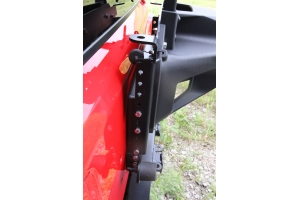 Rock Hard 4x4 Adjustable Spare Tire Carrier w/ CB Antenna (Part Number: )