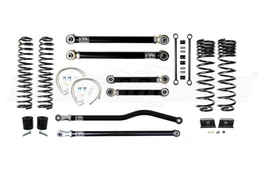 EVO Manufacturing 2.5in Enforcer Lift Kit, Stage 3 PLUS  (Part Number:3060S3P)