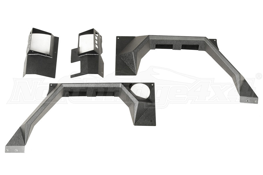 Rugged Ridge XHD Rear Armor Fenders (Part Number:11615.03)