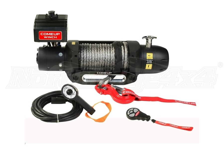 Comeup Seal Gen2 Series 12.5rs Recovery Winch w/ Synthetic Rope (Part Number:295795)