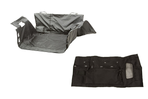 Rugged Ridge C3 Cargo Cover w/ Rugged Ridge C3 TailGate Cover - JK
