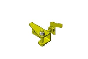 Clayton Steering Stabilizer Relocation Bracket  - JT/JL/JK