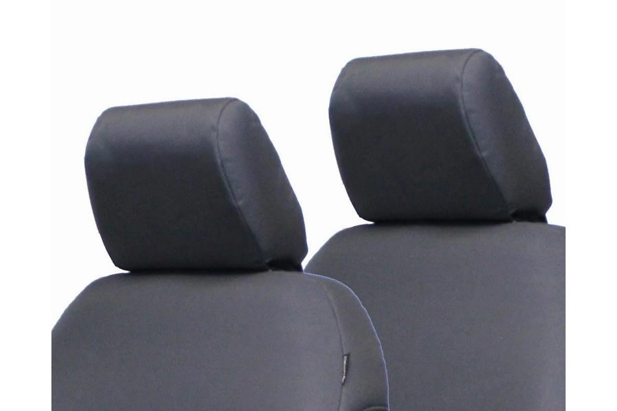 Bartact Front Headrest Covers - Graphite  - JL 4Dr