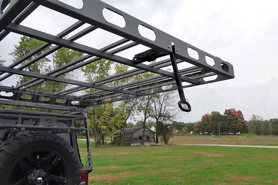 LOD Easy Sliding Roof Rack Rear Retractable Handle Black PC (Part Number:JRR0745)
