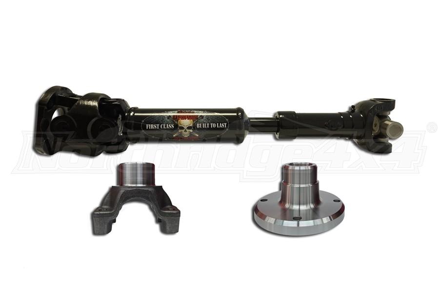 Adams Driveshaft Extreme Duty Rear Solid 1350 CV Driveshaft  (Part Number:JK-1350R-S2D)
