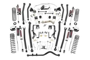 Rough Country 4in Long Arm Lift Kit w/ Vertex Shocks  - JK 2012+ 2Dr 3.6L
