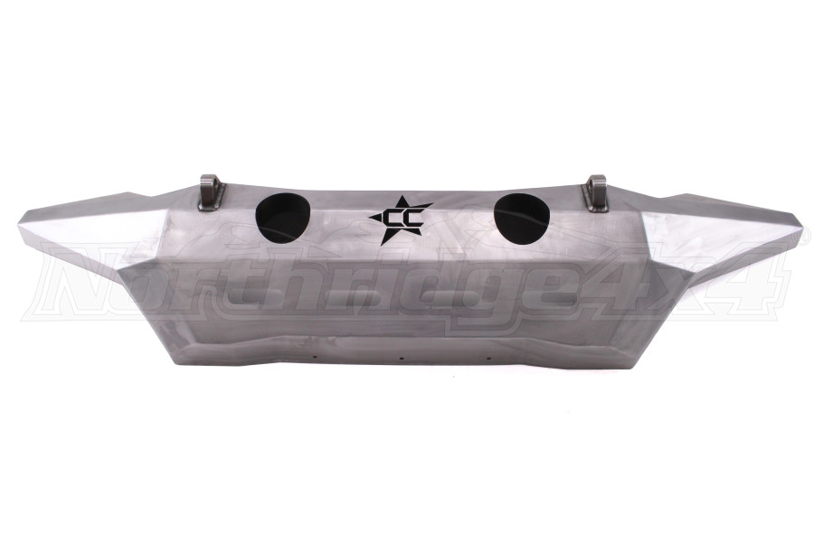 Crawler Conceptz Ultra Series Full Width Front Bumper w/Tabs Bare (Part Number:US-FWF-002)