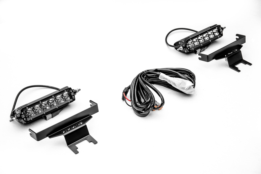 T-REX ZROADZ Rear Window Mounting Bracket Kit w/two 6in LED Lights and Wire Harness  (Part Number:Z394941-KIT)