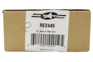 Rubicon Express 2.75x6.50in U-Bolt Kit Rear (Part Number: RE2445)