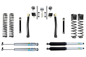 Evo Manufacturing 2.5in Enforcer Stage 3 Lift Kit w/ Bilstein Shocks - JT