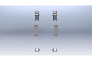 Clayton Rear Shock conversion kit   (Part Number: )