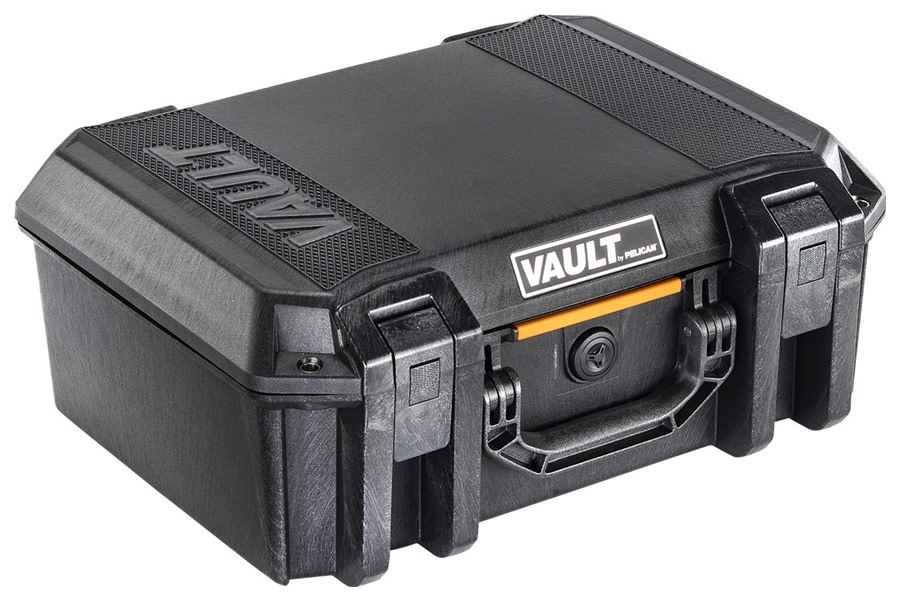 Pelican V300C Vault Large Equipment Case w/ Padded Dividers - Black