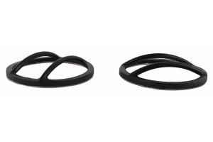 Kentrol Fog Light Cover Set - Textured Black  - JK