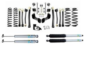 Evo Manufacturing 4.5in Enforcer Overland Stage 4 Lift Kit w/ Bilstein Shocks - JL 4Dr