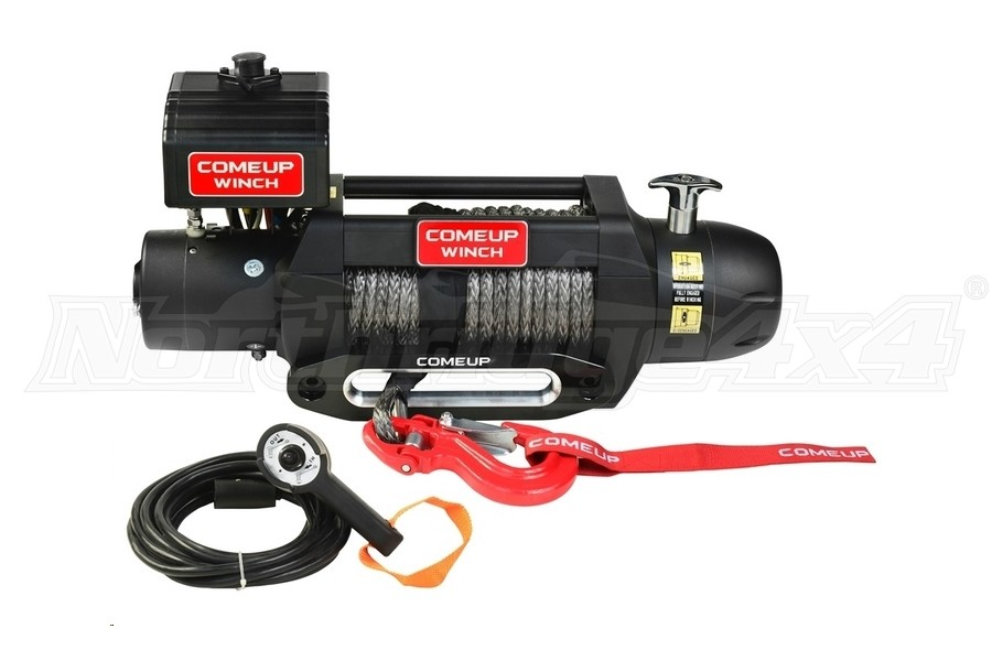 Comeup Seal Gen2 Series 9.5s Recovery Winch w/ Synthetic Rope (Part Number:295975)