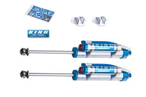 King Shocks 2.5 OEM Performance Series Rear Shocks w/Adjuster 3-5in Lift (Part Number: )