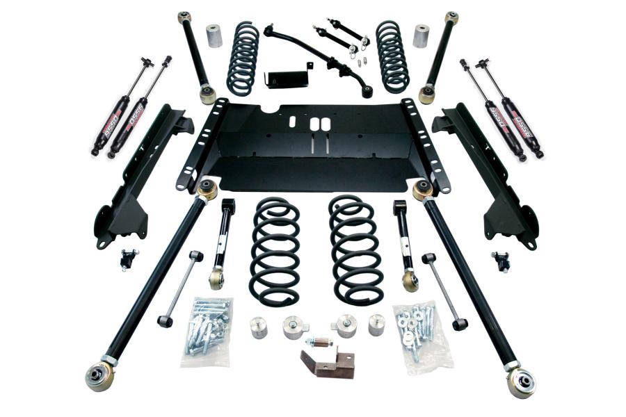 Teraflex 3in Unlimited Enduro LCG Lift Kit W/9550 Shocks (Part Number:1249382)