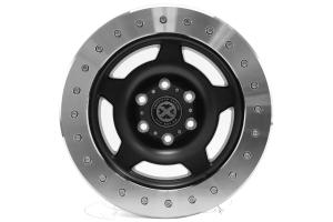 ATX Wheels AX756 Slab Wheel Satin Black 17x9 6x5.5 (Part Number: )
