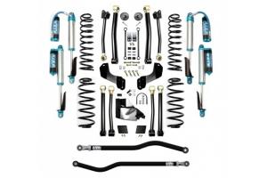 EVO Manufacturing 4.5in Enforcer Overland PLUS Stage 4 Lift Kit w/ Comp Adjuster Shocks - JL 4Dr Diesel