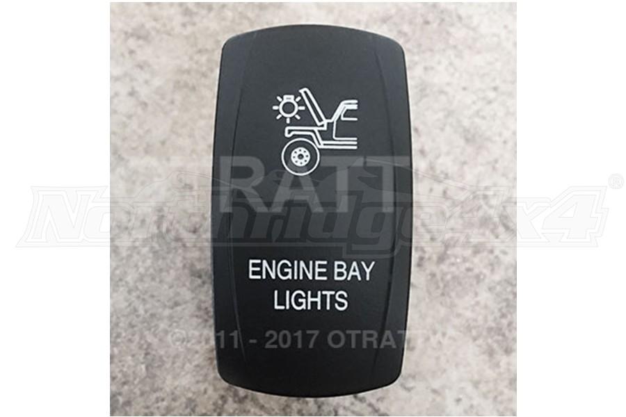 sPOD Engine Bay Light Rocker Switch Cover