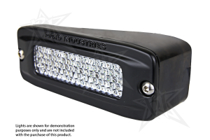 Rigid Industries SR-Q Series Flush Mount Angled Left / Right (Part Number: )
