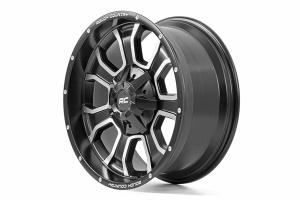 Rough Country Series 93 Wheel - 20x10, 5x5 - JT/JL/JK/TJ/WJ