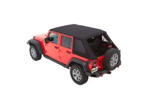 Bestop Trektop NX Plus Soft Top Black Diamond - JK 4dr