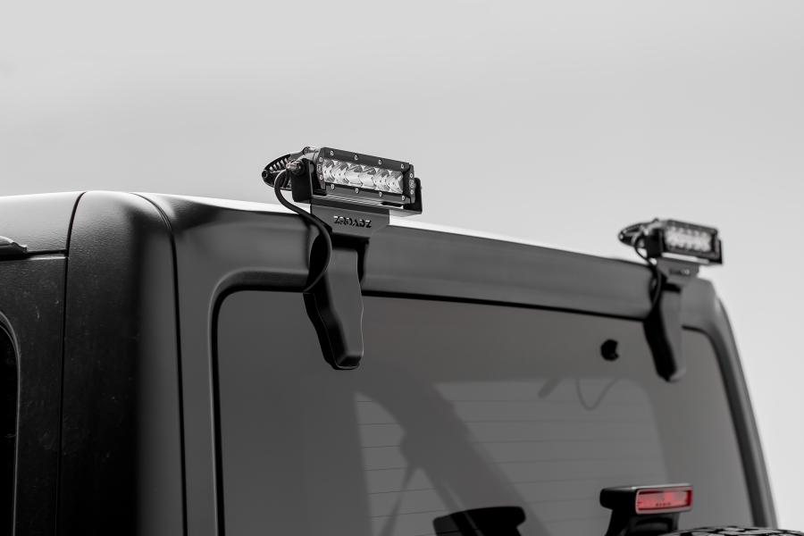T-REX ZROADZ Rear Window Hinges LED Light Brackets  (Part Number:Z394941)