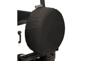 Bestop 28in Spare Tire Cover Black Diamond