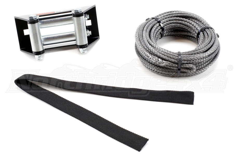 Warn Synthetic Rope Replacement Kit 3/16in X 50ft (Part Number:72128)