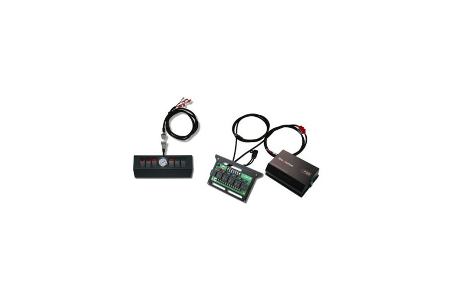 sPod 6 Switch and Source System with Air Gauge - 97-02 TJ