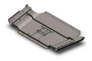 Clayton Transfer Case Skid Plate - TJ