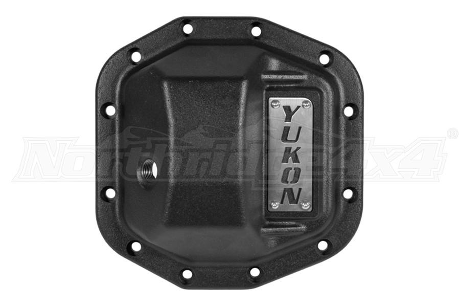 Yukon D35 Hardcore Rear Diff Cover, Black - JT/JL Non-Rubicon