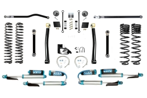 EVO Manufacturing 4.5in Enforcer Overland Stage 3 Plus Lift Kit w/ Comp Adjusters - JT