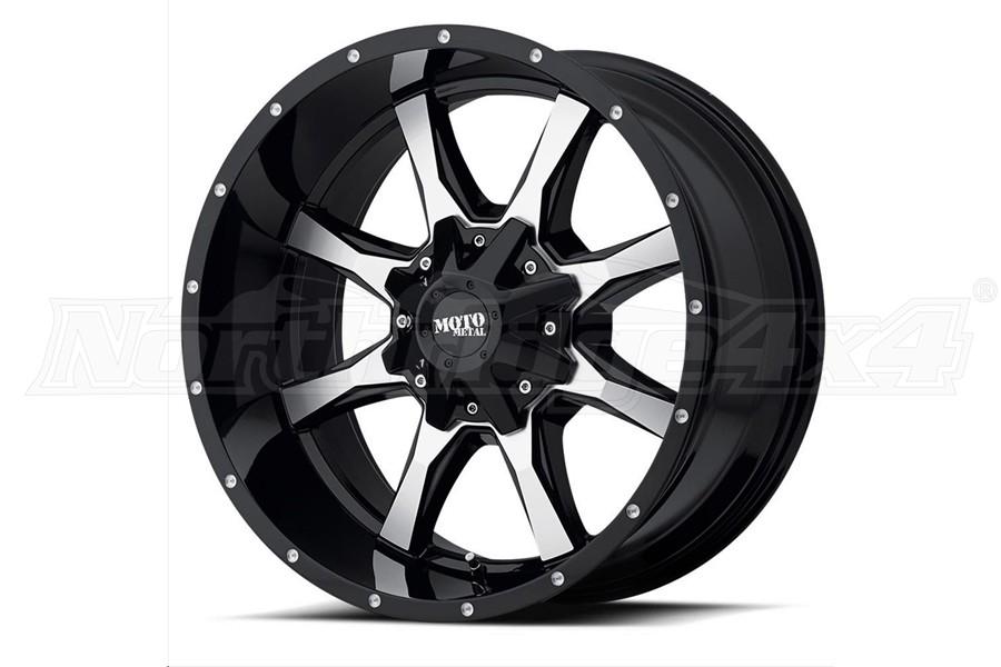 Moto Metal Wheels MO970 Series Non-Beadlock Wheel, 17x9 8x6.5