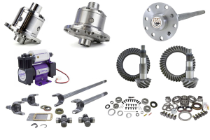 Yukon Zip Lockers, Compressor, Gears, and Front and Rear Axle Kits - JK Non-Rubicon