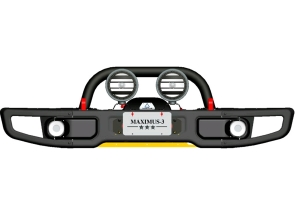 Maximus-3 Grille Guard X Hoop (Part Number: )