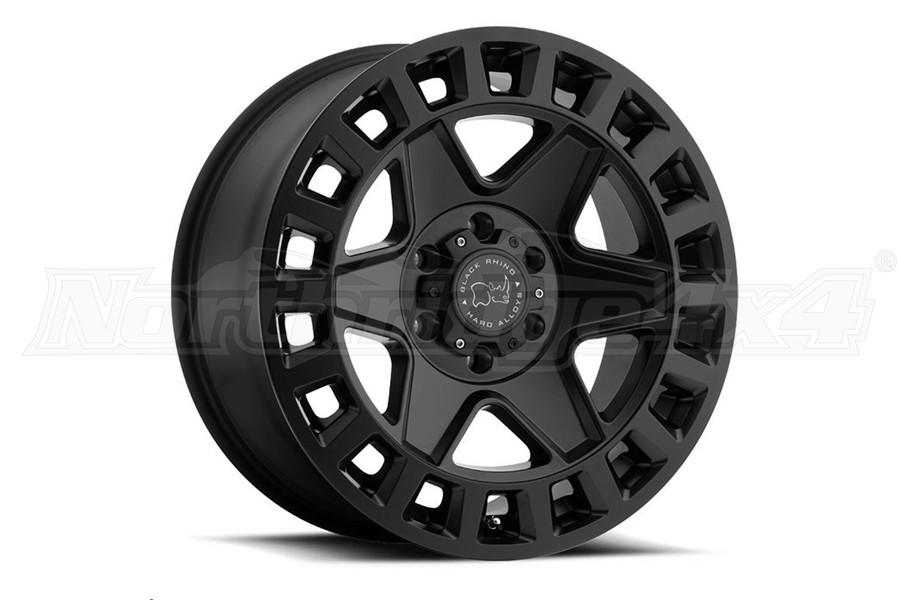 Black Rhino York Wheel 17x9 5x5 Matte Black (Part Number:1790YRK-25127M71)